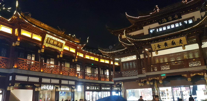 Chen WANG Miao τη νύχτα στοκ φωτογραφία με δικαίωμα ελεύθερης χρήσης