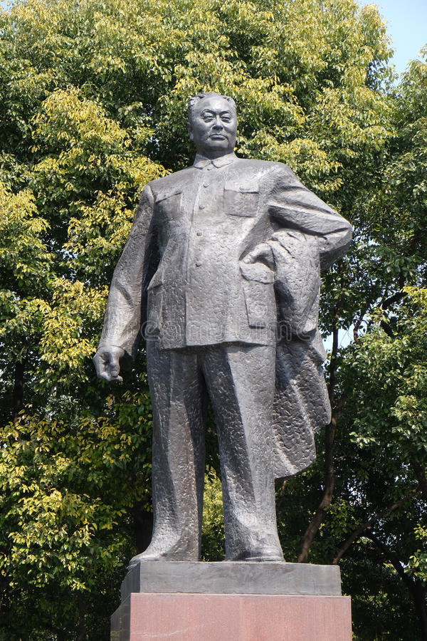 Chen Yi, πρώτος δήμαρχος της Σαγκάη στοκ εικόνες