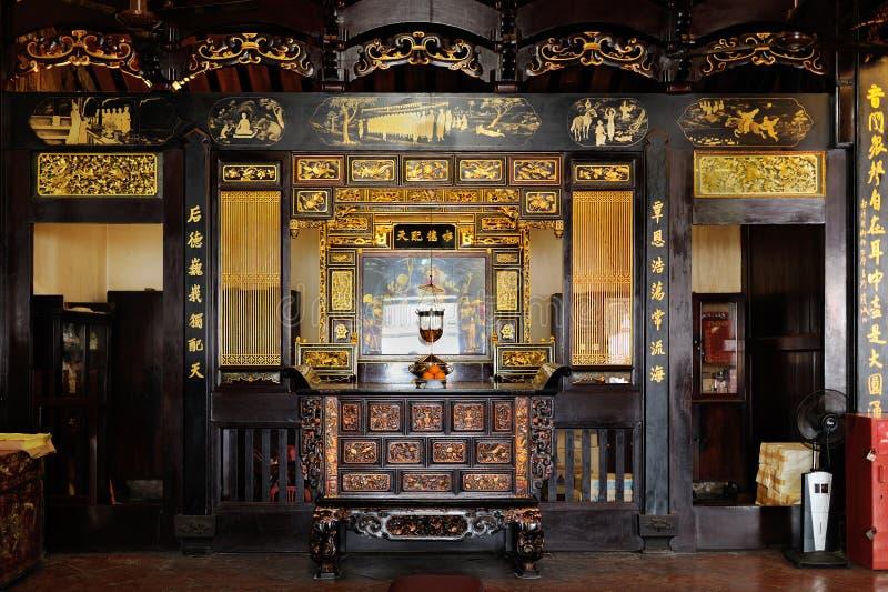 Cheng Hoon Teng Temple in Melaka. Malaysia. Inside of Cheng Hoon Teng Temple in Melaka. Malaysia stock photos