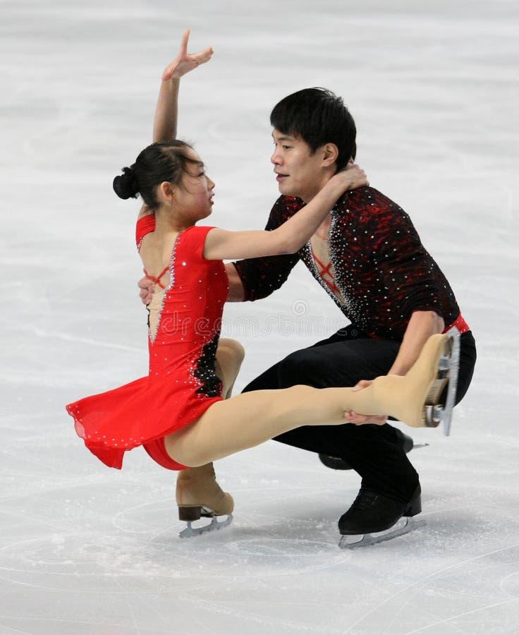 Cheng PENG Hao/ZHANG (CHN) fotografia stock