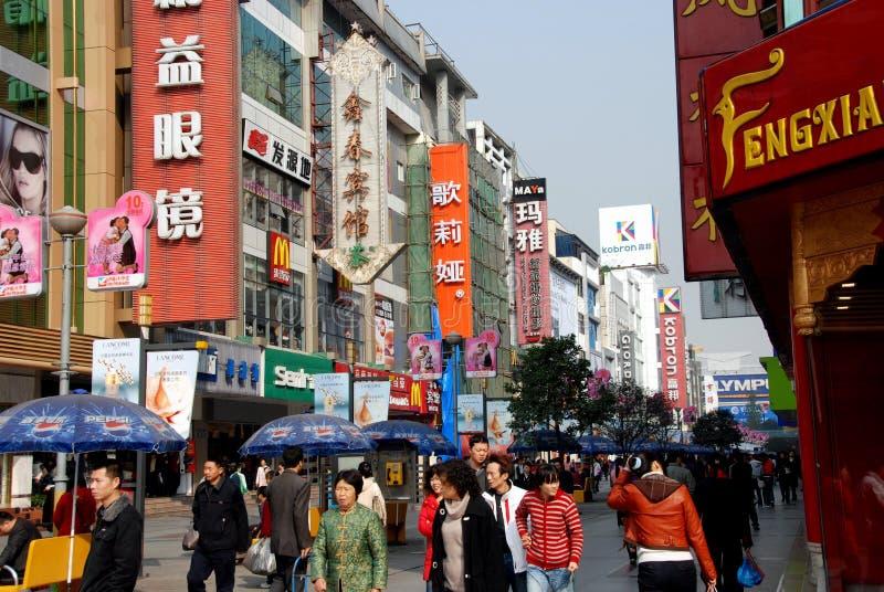 Chengdu, China: Chun Xi Street stock photos