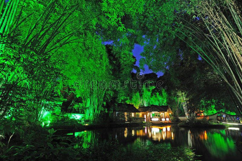 Chengdu Du Fu Thatched Cottage Museum royalty free stock images