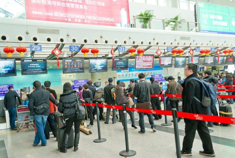 Chengdu, porcelana: compre o bilhete fotos de stock royalty free