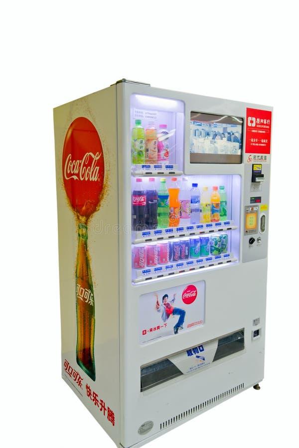 chengdu, porcelana: máquina de vending fotos de stock royalty free
