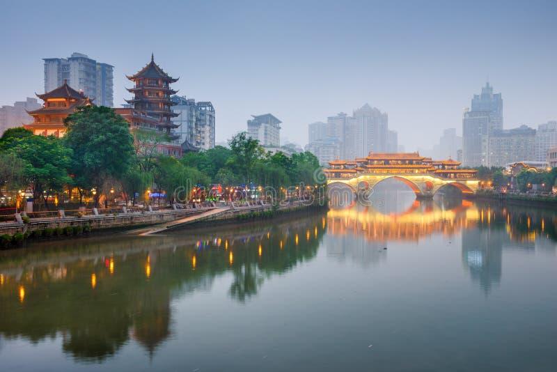 chengdu porslin royaltyfria bilder