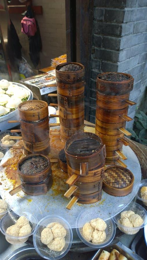 Chengdu snack-Steamer royalty free stock photos