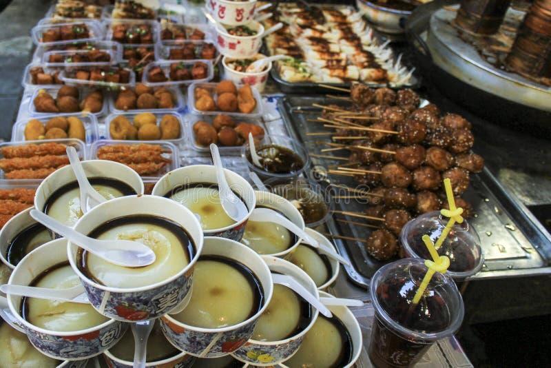 Chengdu traditional food stock image