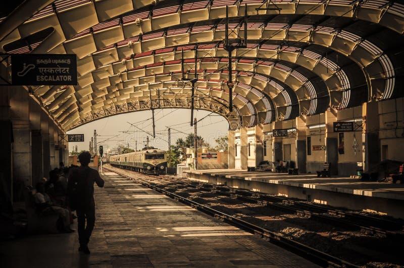 Chennai järnvägsstation royaltyfri foto