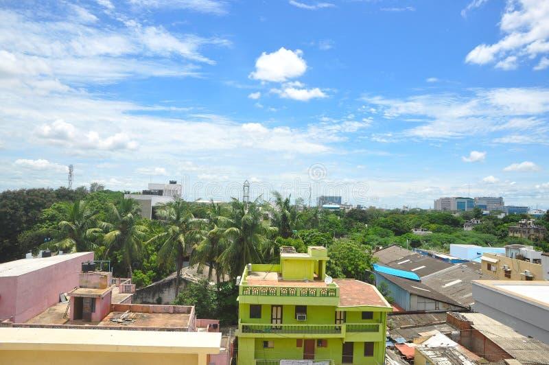 Chennai pejzaż miejski obraz stock