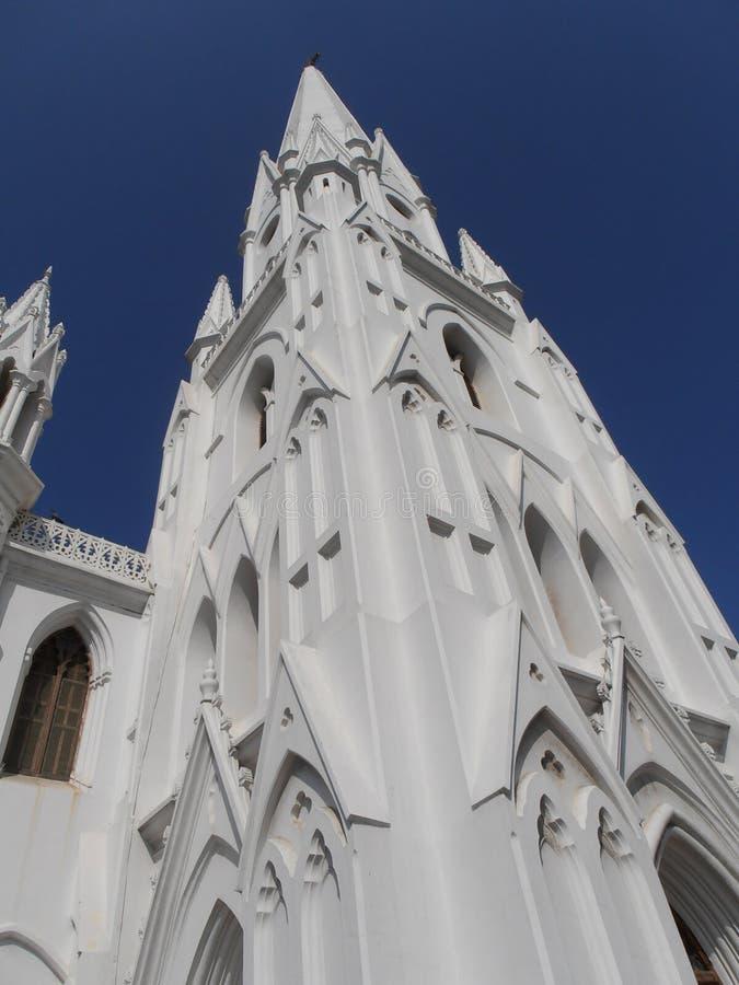 Chennai San Thome basilika arkivbilder