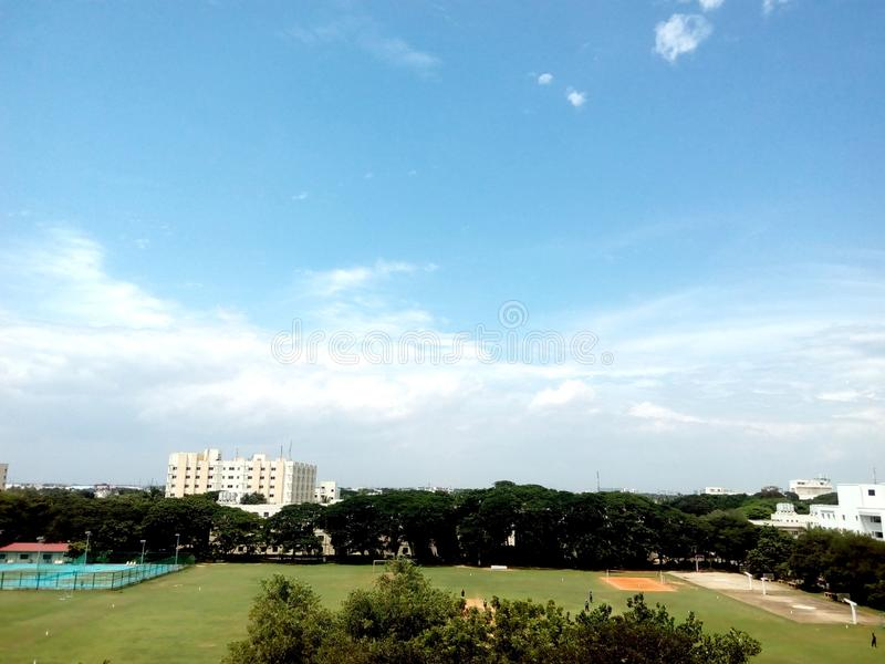Chennai university royalty free stock photos