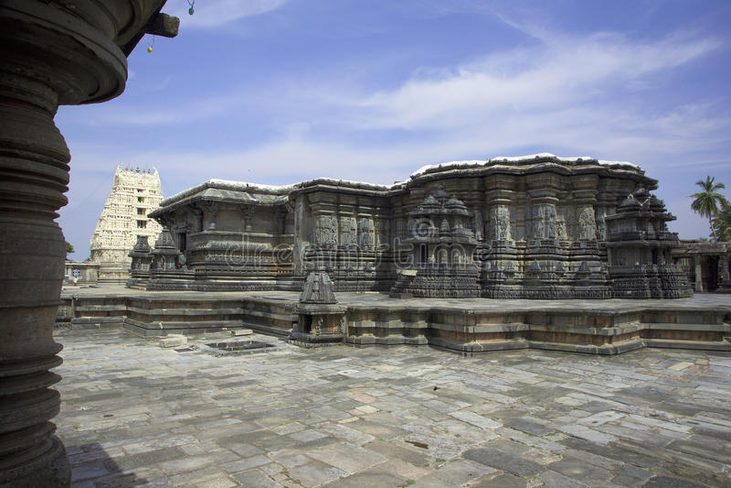 Chennakeshava Temple ,India stock photography