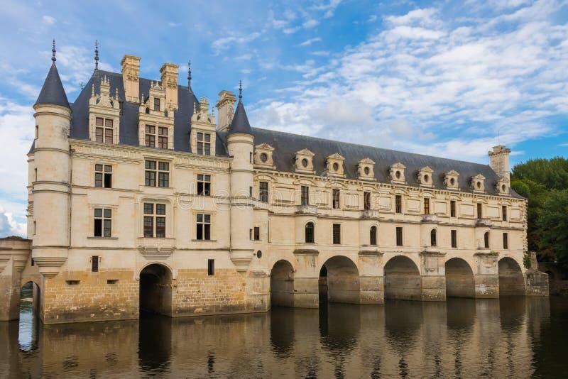 Chenonceau του Castle στη Loire Γαλλία στοκ εικόνες