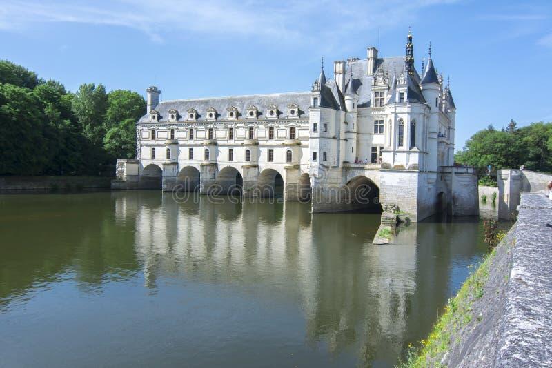 Chenonceau Замок Замок de Chenonceau, Loire Valley, Франция стоковые фото