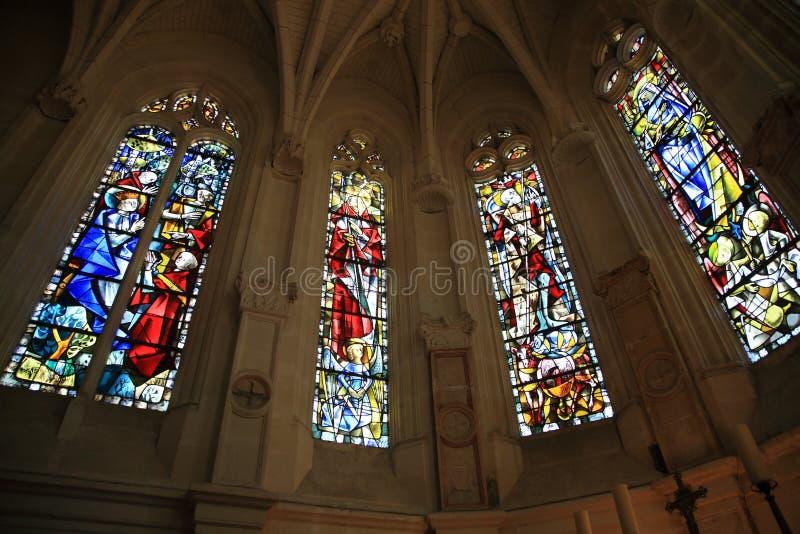 Chenonceau - capela fotografia de stock royalty free