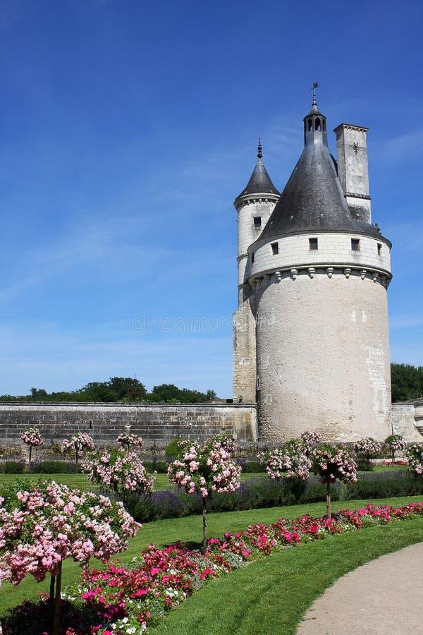 Chenonceau Castle stock image