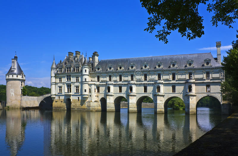 chenonceau Cher obraz royalty free