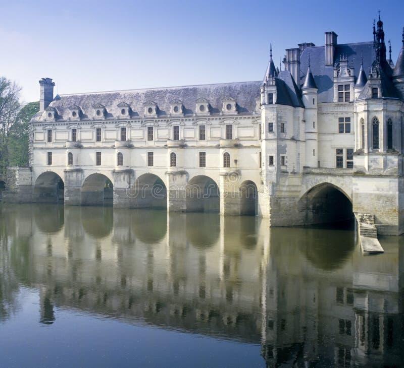 Chenonceau do castelo foto de stock royalty free