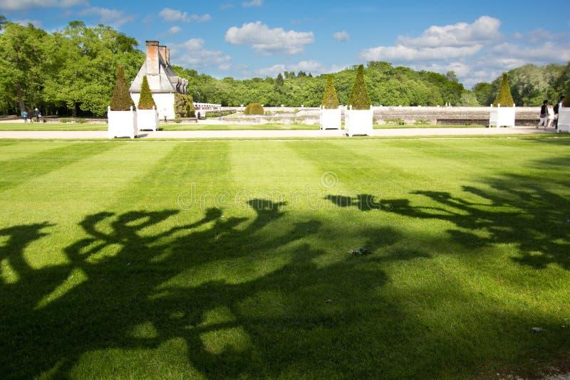Chenonceau-Schloss stockfoto