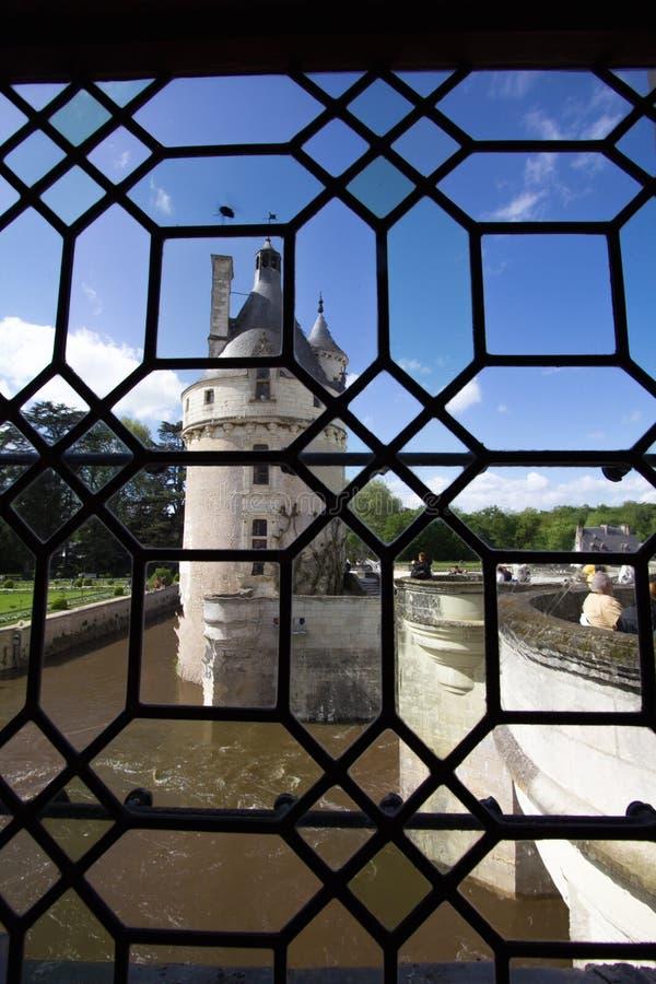 Chenonceau-Schloss lizenzfreies stockbild