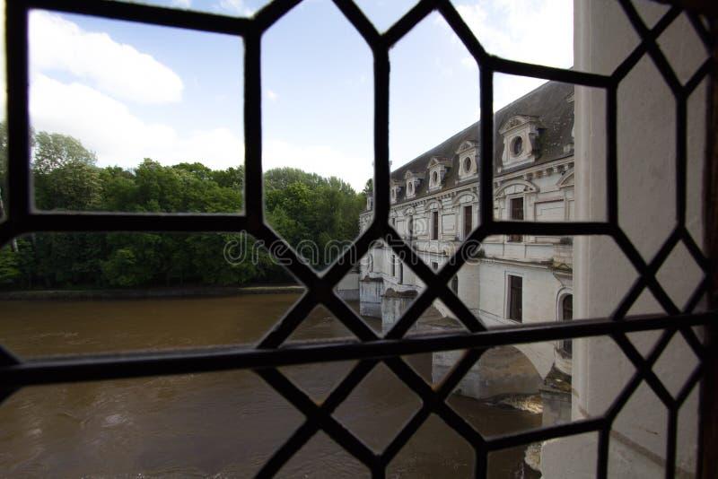 Chenonceau-Schloss lizenzfreie stockfotos