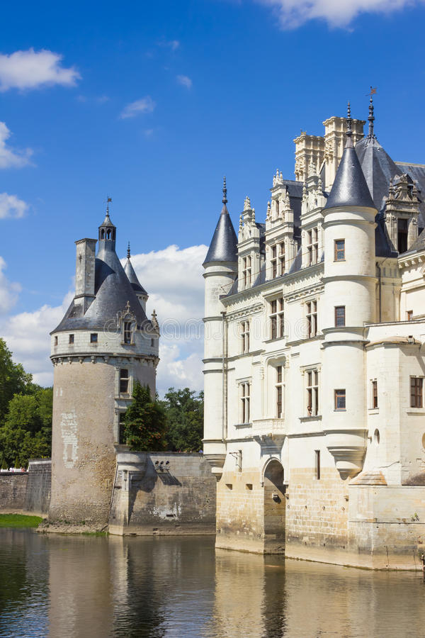 Chenonceau-Schloss des Loire Valley stockfotografie