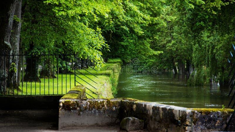 Chenonceau-Schloss, Loire Valley, Frankreich lizenzfreie stockfotos