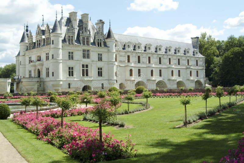 Chenonceau van Chateau royalty-vrije stock fotografie