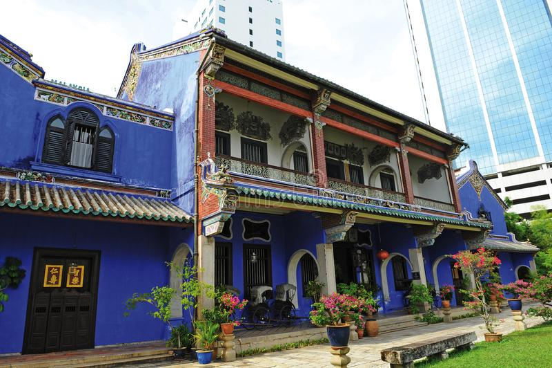 CHEONG法特TZE豪宅- PULAU PINANG 库存图片