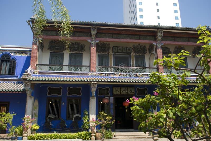 Cheong Fatt Tze Mansion arkivbild