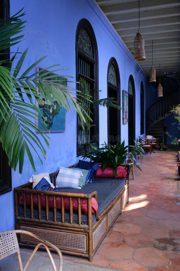 Cheong Fatt Tze Mansion, Penang, Malaysia lizenzfreies stockbild