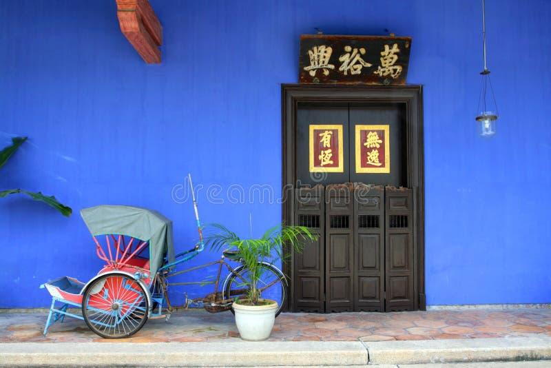 Cheong Fatt Tze Mansion Penang, Malaysia arkivbilder