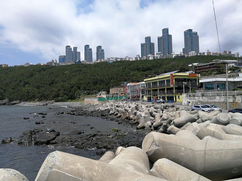 Cheongsapo口岸,釜山 免版税图库摄影