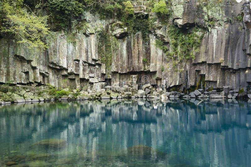Cheonjeyeon ningún 1 cascada imagen de archivo libre de regalías