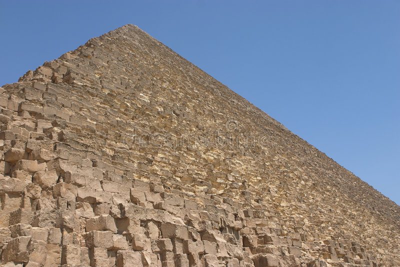 cheopspyramid royaltyfri fotografi