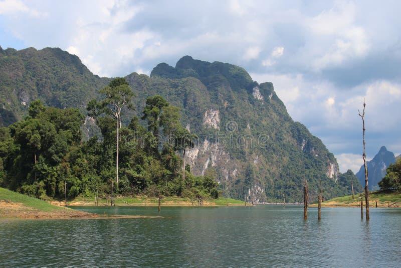 cheow εθνικό πάρκο sok Ταϊλάνδη του τοπικού LAN λιμνών khao στοκ φωτογραφίες