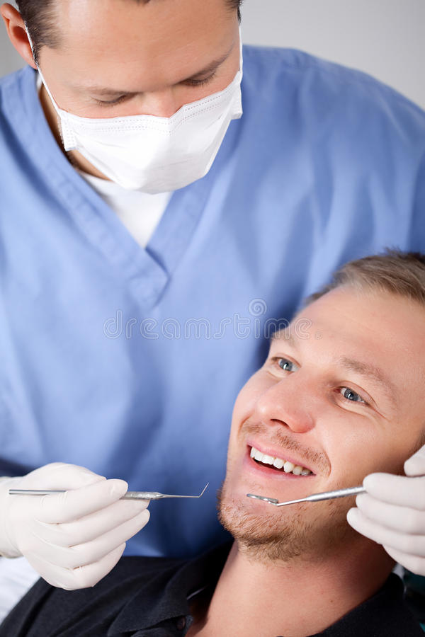 Chequeo dental imagen de archivo libre de regalías