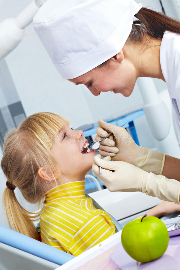 Chequeo dental fotografía de archivo libre de regalías