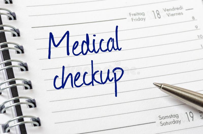 Chequeo médico fotos de archivo libres de regalías