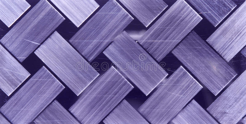 Chequer Metal Texture Royalty Free Stock Image