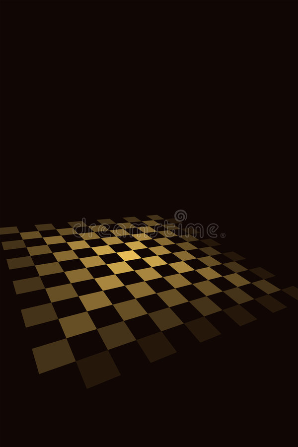 Download Chequered Board stock vector. Image of tile, game, sepia - 4199692