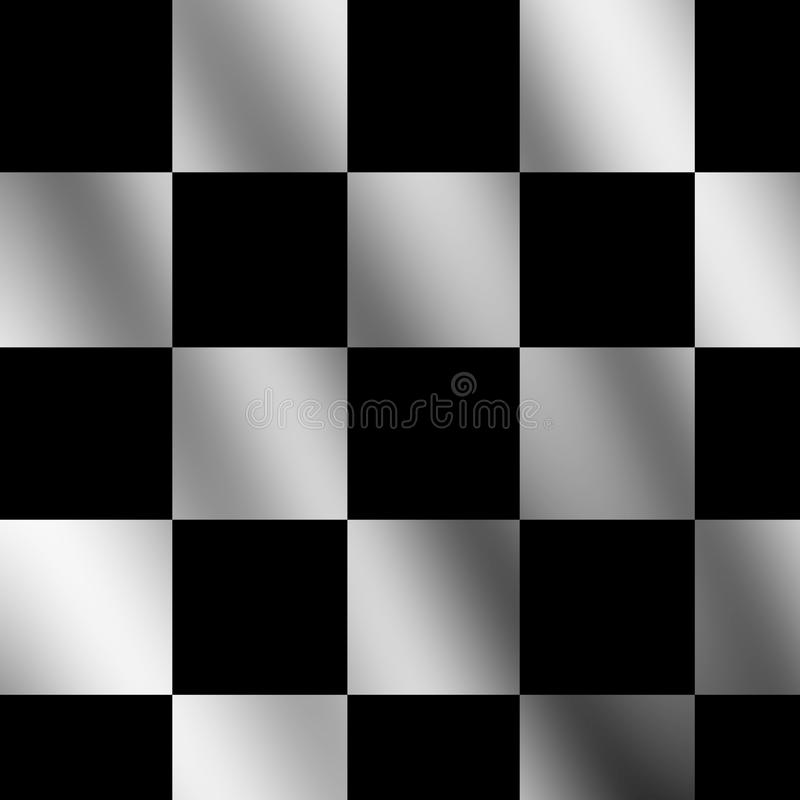 Download Chequered flag stock illustration. Illustration of folds - 10896930