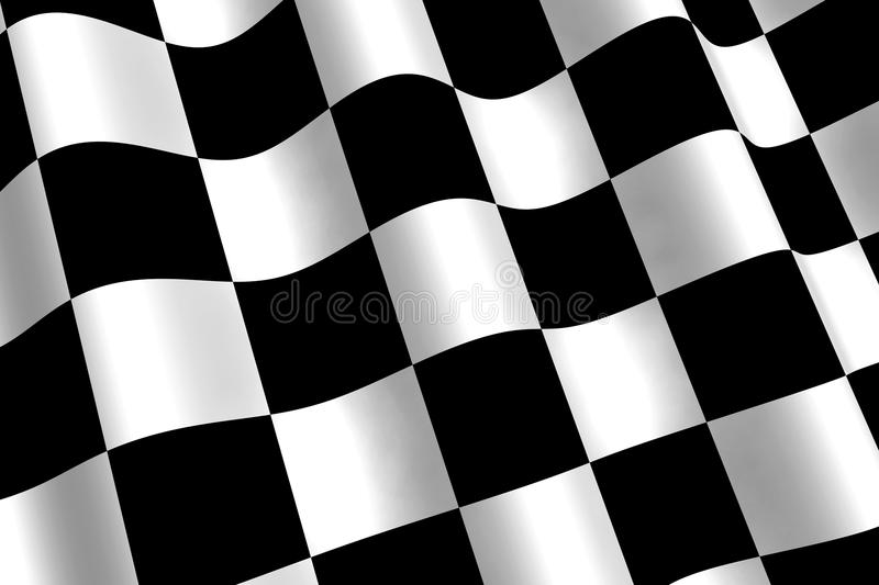 Chequered Flag royalty free illustration