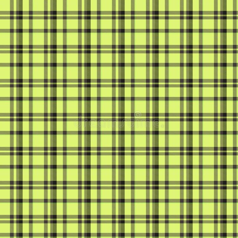 chequered tkaniny ilustracji