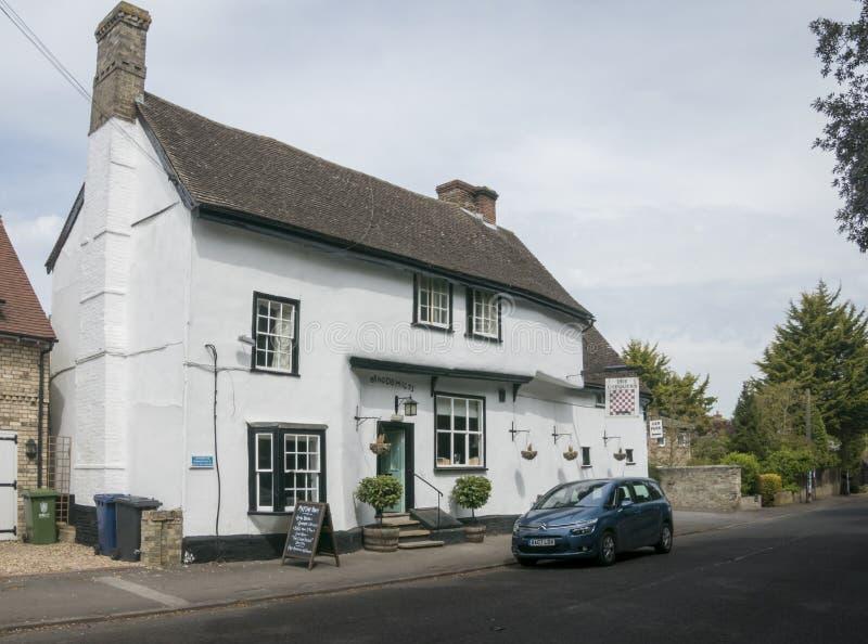 Chequers Jawny dom, Fowlmere, UK zdjęcie stock