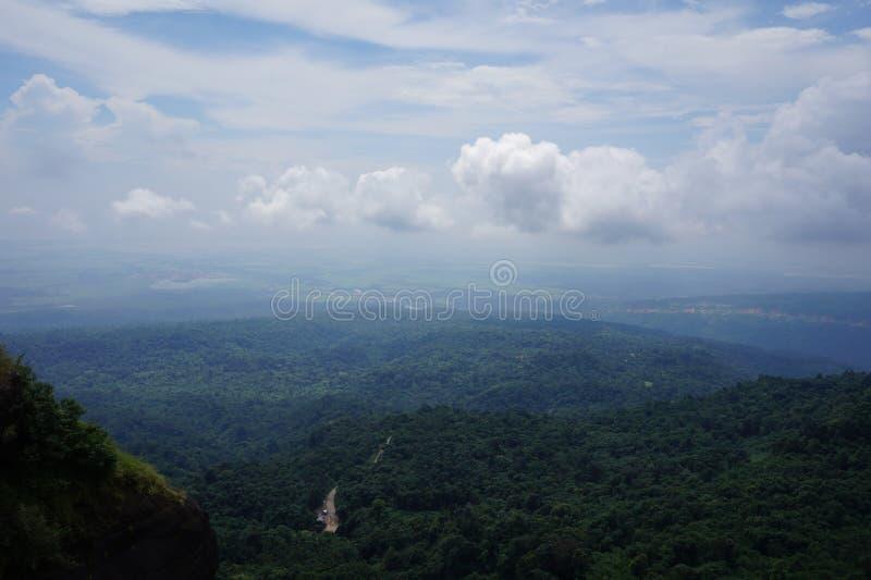 Cherapunjee Shillong India fotografie stock libere da diritti