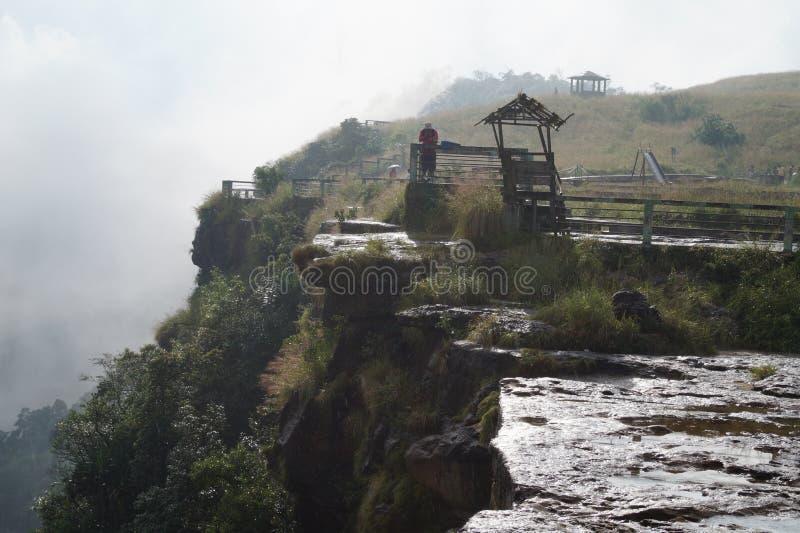 Cherapunjee Shillong Indien stockbilder