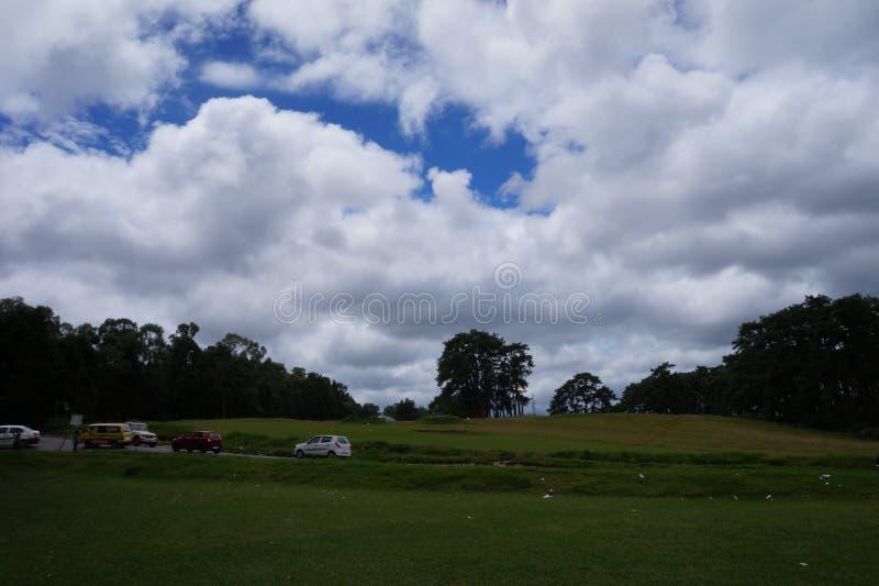Cherapunjee Shillong Indien arkivfoton