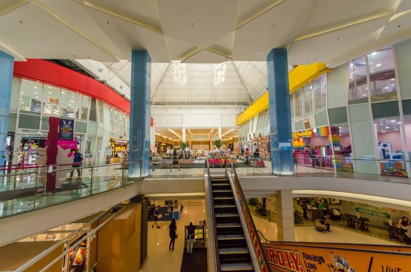 Cheras-Freizeit-Mall ist zu einer vibrierenden Mischung des Einzelhandels, Freizeit Haupt, Unterhaltung und Speisenausgänge stockbild