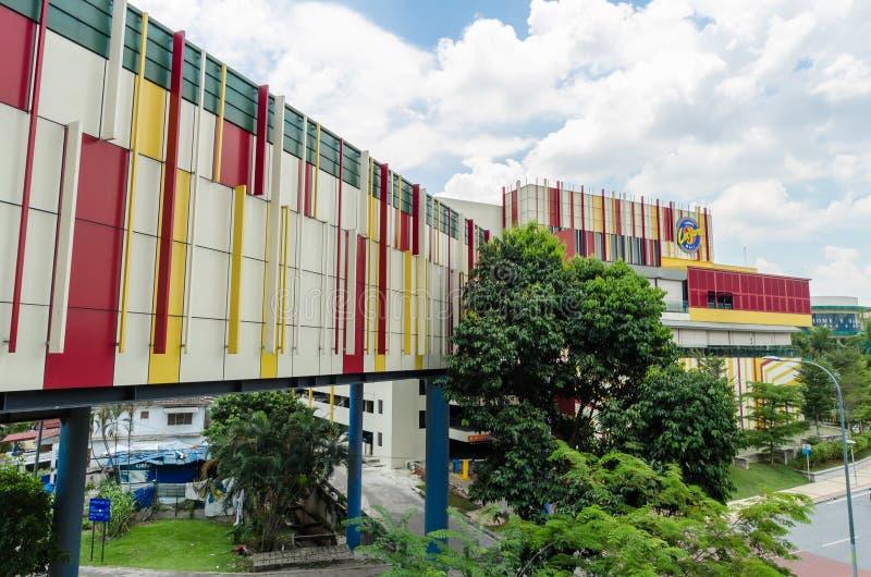 Cheras-Freizeit-Mall ist zu einer vibrierenden Mischung des Einzelhandels, Freizeit Haupt, Unterhaltung und Speisenausg?nge lizenzfreies stockfoto